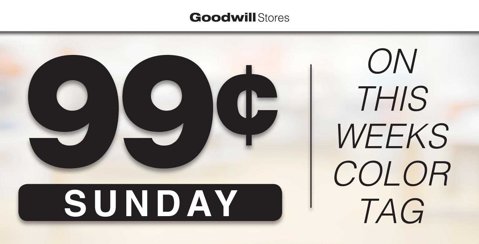 99¢ Sundays