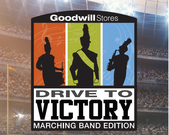 Goodwill Stores Drive to Victory Marching Band Edition